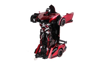Robot connecté Air Rise Robot voiture justice fighter rouge