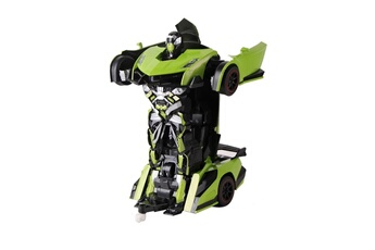 Robot connecté Air Rise Robot voiture justice fighter vert