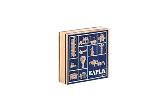 Kapla Kapla La planchette magique kapla boite de 100 pieces couvercle bleu