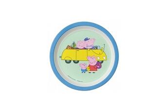 Vaisselle bébé PETIT JOUR Assiette bebe peppa pig avec les grands parents
