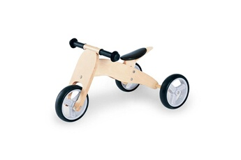 Draisienne Pinolino Tricycle en bois charlie naturel