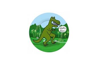 Vaisselle bébé PETIT JOUR Assiette a dessert tyrannosaure