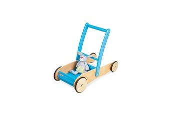 Jouets premier âge Pinolino Chariot de marche uli turquoise