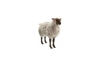 Peluches Hansa Peluches G?antes Hansa peluche geante mouton brun 90 cm h 100 cm l