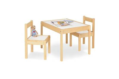 Chaises Naturel Blanc Table Enfant Olaf 64x50cm2 rdxeWoQBCE