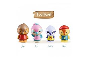 Monde imaginaire Vulli Klorofil lot de 4 personnages twitwit