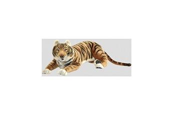 Peluches Hansa Peluches G?antes Hansa peluche geante tigre brun couche 100cml