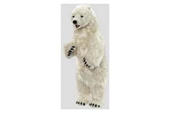 Peluches Hansa Peluches G?antes Hansa peluche geante ours polaire dresse 100cmh 50cml