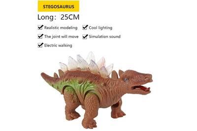 Jouet En Enfants Électrique Plastique Jouets Luminescentes Dinosaur Stégosaure Animaux JFTlK13c