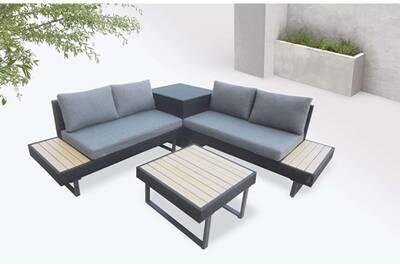 Ensemble table et chaise de jardin Bobochic Bobochic palma - salon ...