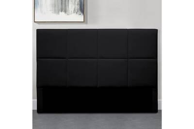 Tête de lit design alexi - noir tête de lit - 140 cm