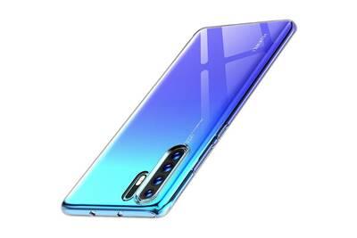 coque huawei p30 pro silicone bleu