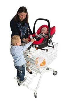 Accessoire poussette Kleine Dreumes Bv Kleine dreumes bv pippi-carrier support universel pour maxicosi dans le chariot rouge