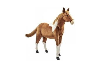 Peluches Hansa Peluches G?antes Hansa peluche geante cheval bicolore 150 cm l