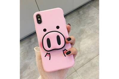 coque iphone xs max cochon