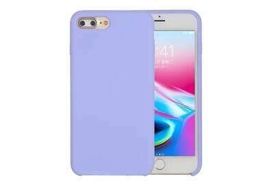 coque iphone 8 plus silicone violet