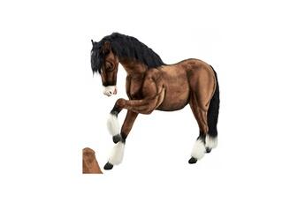 Peluches Hansa Peluches G?antes Hansa peluche geante cheval de trait clydesdale 135 cm h et 160 cm l