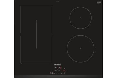 Plaque Induction Siemens Table De Cuisson A Induction 60cm 4 Foyers 6900w Noir Siemens Ed631bsb5e Darty