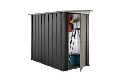 Royaume-Uni disponibilité c6575 9ce22 Yardmaster abri de jardin en métal 1,90 m² - gris anthracite