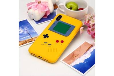 iphone xs max coque gameboy