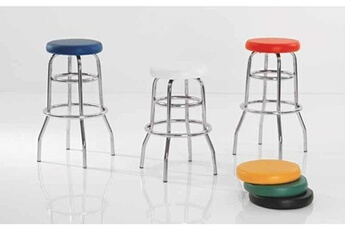 Chaise haute Sofamobili Tabouret de bar design aether, 6 couleurs au choix