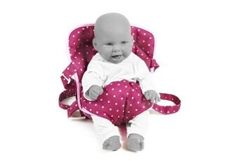 Accessoires de poupées Bayer Chic 2000 Bayer chic 2000 782 29 ceinture de portage pour poupées mûres à pois