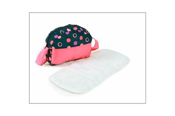 Accessoires de poupées Bayer Chic 2000 Bayer chic 2000 853 20 sac ? langer pour poussettes de poup?es - corail