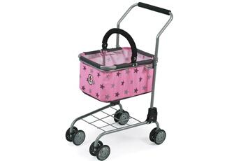 Accessoires de poupées Bayer Chic 2000 Bayer chic 2000 761 83 chariot de supermarché (jouet) métallique et tissus coloris 83