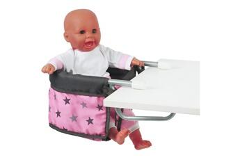Accessoires de poupées Bayer Chic 2000 Bayer chic 2000 735 83 si?ge de table pour poup?es - coloris 83