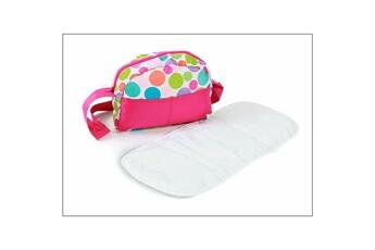 Accessoires de poupées Bayer Chic 2000 Bayer chic 2000 853 17 sac ? langer pour poussettes de poup?es - bulles color?es
