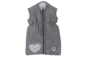 Accessoires de poupées Bayer Chic 2000 Bayer chic 2000 792 76 sac de couchage pour poupées - coloris 76 jeans grey