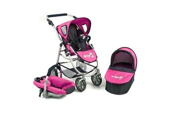 Accessoires de poupées Bayer Chic 2000 Bayer chic 2000 637 12 la poussette pour poupées, combinée 3 en 1 emotion \
