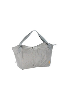 Sac à langer Lassig Casual sac twin triangle gris clair