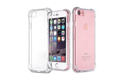 Coque antichoc silicone transparent pour apple iphone 6 plus / 6s plus [phonillico®]