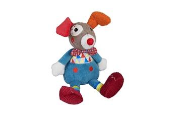 Peluches Ebulobo Doudou gustave le petit clown magic circus, peluche mixte