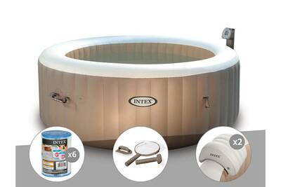 Spa Gonflable Intex Kit Spa Gonflable Intex Purespa Rond Bulles 4