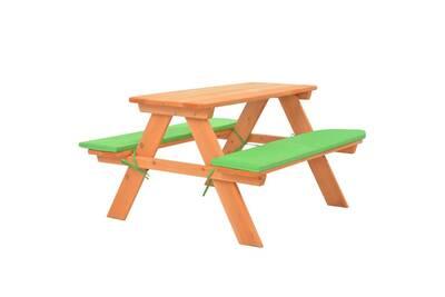 Meubles de jardin selection londres table de pique-nique pour enfants avec  bancs 89x79x50 cm sapin