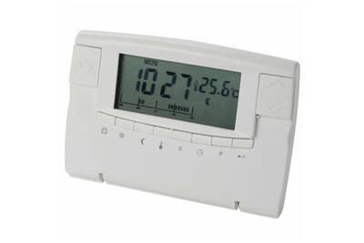 Thermostat et programmateur de chauffage PEREL Thermostat numérique blanc cth406