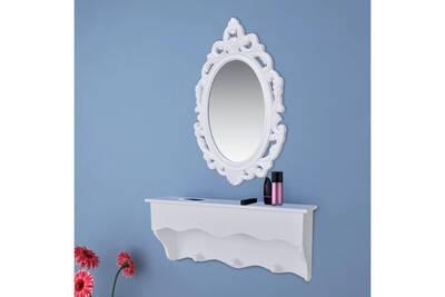 Armoires et pour et crochets rangement avec et miroir de clés bijoux ensemble murale meubles avarua étagère T3lJc1uFK