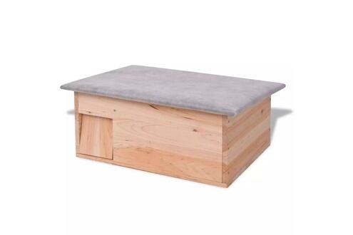 Cabane pour hérisson 45 x 33 x2 2 cm bois