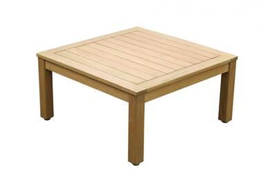 Salon de jardin Vente-unique Table basse de jardin capelli en bois d ...
