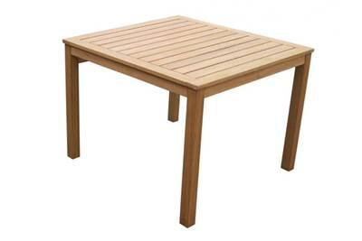 Salon de jardin Vente-unique Table à manger de jardin capelli en ...
