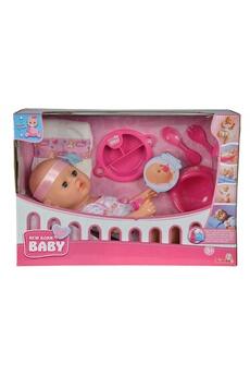 Poupées Simba Toys Simba toys 105037975 new born baby- bébé il est temps de se couche