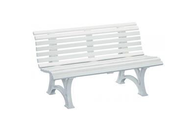 Chaise et fauteuil de jardin Kettler Banc en résine neptune 150 cm ...