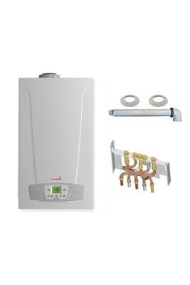 Chauffage à pétrole / gaz Chappee Chaudière gaz condensation initia + compact chappée 25 kw complète (ventouse + douilles + dosseret)