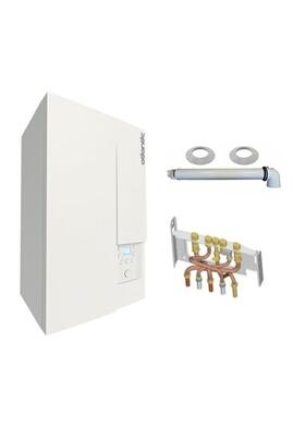 Chauffage à pétrole / gaz Chaudière gaz condensation naema naia 2 micro 25 kw complète propane (avec ventouse + douilles + dosseret) ATLANTIC