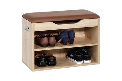 Meuble à Chaussures Idimex Meuble à Chaussures Zapato Banc Avec