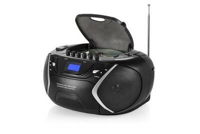 Mini Chaine Hi Fi Radio Stereo 6w Noir