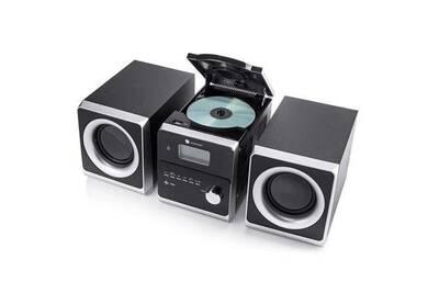Mini Chaine Hi Fi Radio Fm Lecteur Cd Aux In 10w