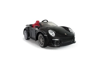 Véhicule à pédales INJUSA Injusa voiture électrique porsche 911 turbo s 12v imove special edition black